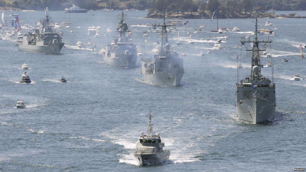 Australia Hopes to Join India-US-Japan Naval Drills