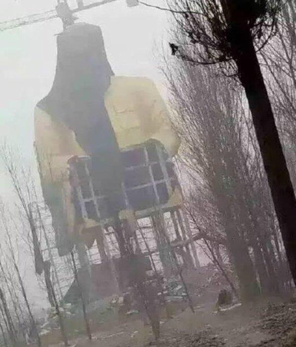 Massive Mao Statue Torn Down in Rural China