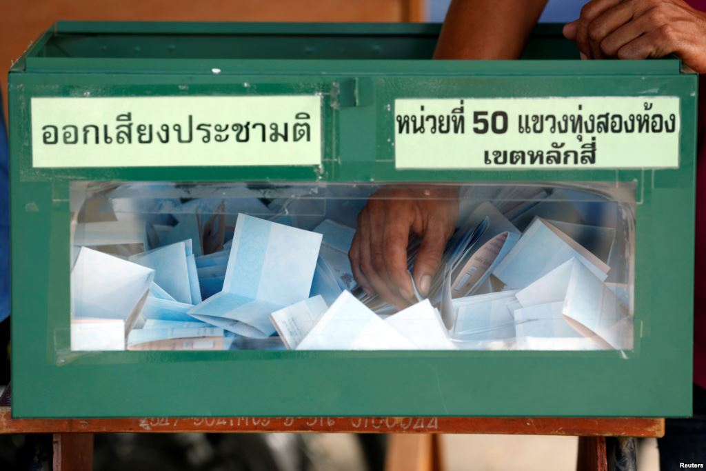 Thailand constitution vote