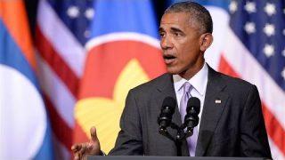 President Barack Obama Speaks to Laotian on September 6, 2016