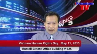 Vietnam Human Rights Day. May 11, 2015  Russell Senate Office Building, Washington, DC